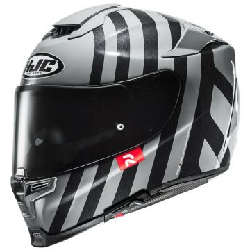 HJC RPHA 70 Forvic MC5 Motorcycle Full Face Helmet Black White Free Pinlock